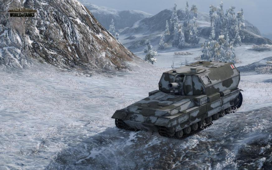 World of Tanks: Die Conqueror Gun Carriage