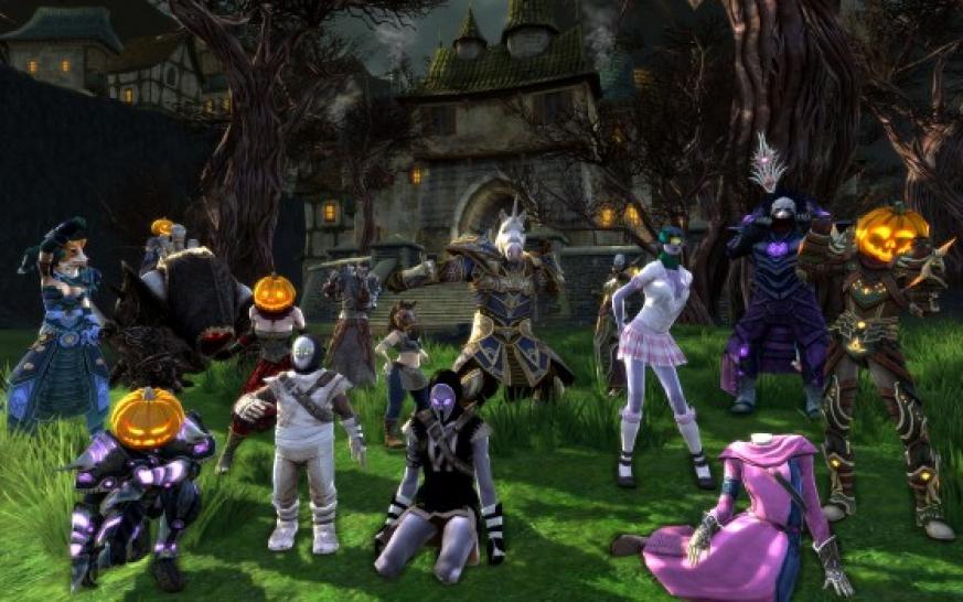 Rift Sensenmonster Reittiere Zu Halloween