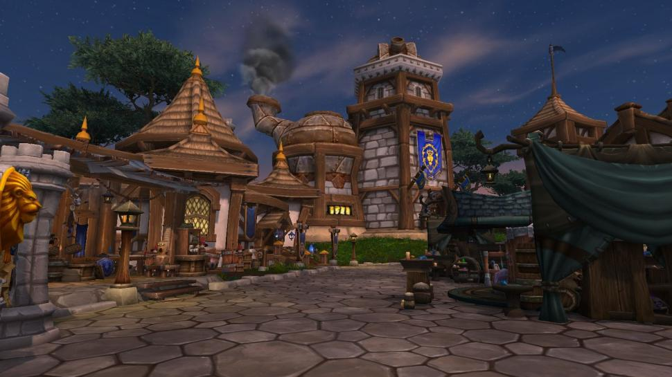 Ashran in WoW: Warlords of Draenor (1)