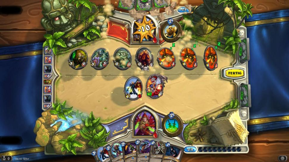 Hearthstone: Der Miracle-Schurke in Aktion