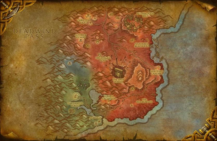 WoW Warlords of Draenor: Neue Karten in Build 18888