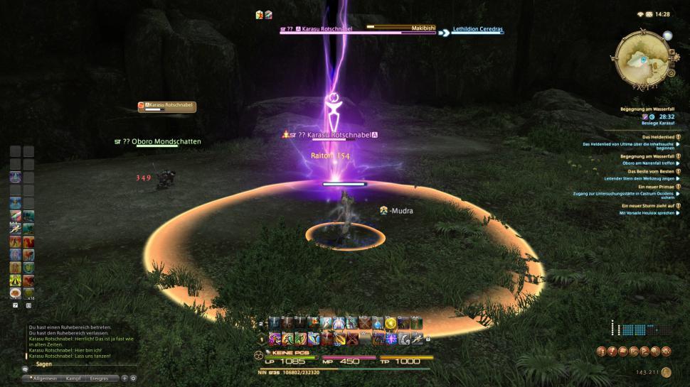 Final Fantasy 14: Der Schurke - so werdet ihr zum Meister