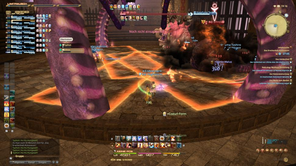 Final Fantasy XIV: Hildibrand-Bossguide - Drachenhals