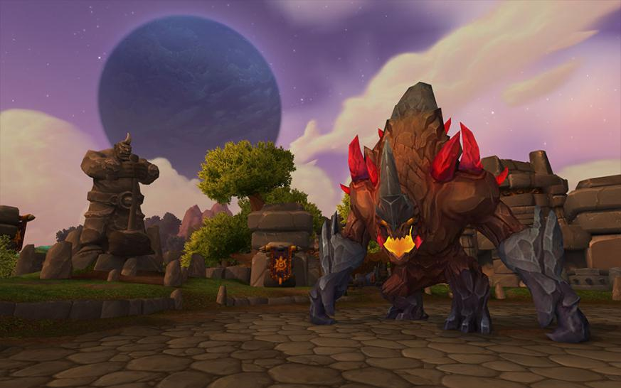 Hochfels in WoW: Warlords of Draenor