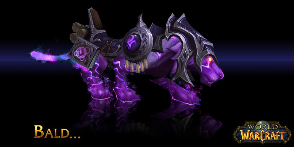 World of Warcraft Zauberstab über die Faust