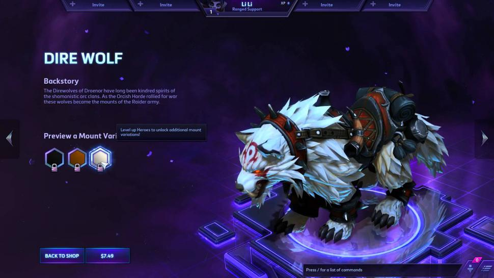Heroes of the Storm Reittier: Der Terrorwolf
