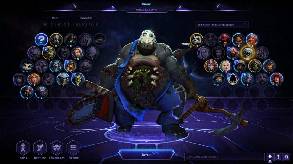 Heroes of the Storm: Stitches a.k.a. Kleiner