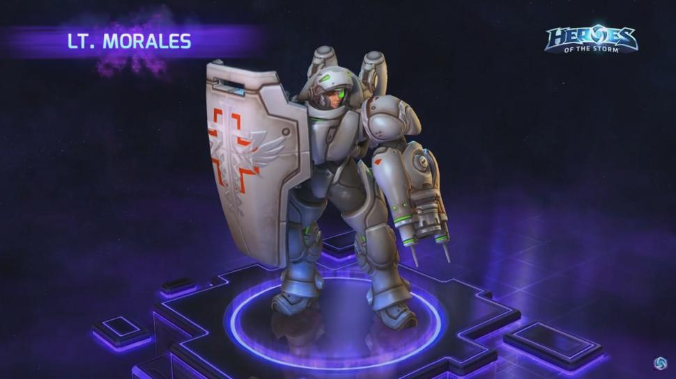 Heroes of the Storm: Lt. Morales