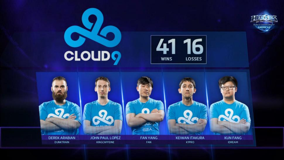 Heroes of the Storm: Team Cloud9