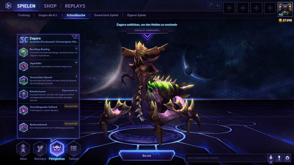 Zagara in Heroes of the Storm