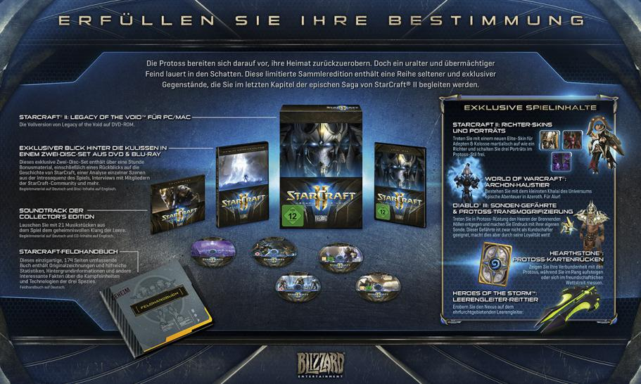 Starcraft 2: Legacy of the Void Collector's Edition