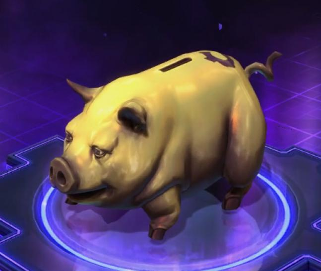 Heroes of the Storm: Sparschwein (1)