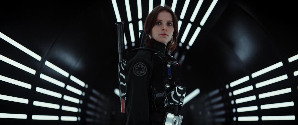 Star Wars: Rogue One - Felicity Jones als Jyn Erso, eine junge Rebellin