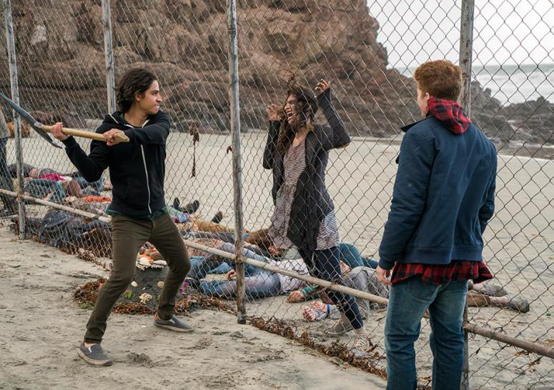 Fear the Walking Dead: Zombie-Schlachten am Abfangzaun.