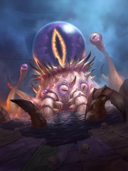 Hearthstone: Warcraft Alte Götter Artwork - C'Thun