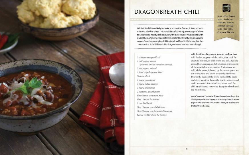 WoW: Kochen wie in Azeroth - das offizielle WoW-Kochbuch erscheint ...