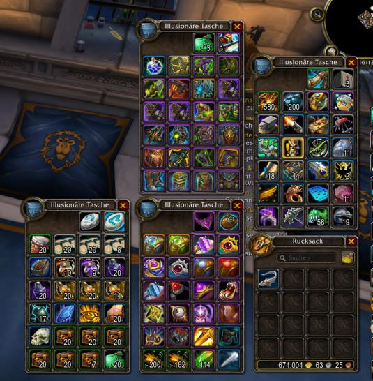 ArkInventory (Battle For Azeroth 8.0
