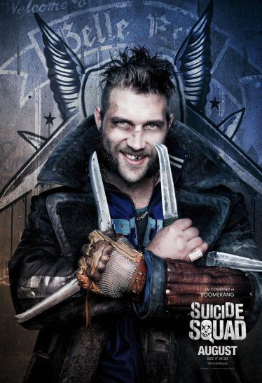 Suicide Squad - Charakterposter Boomerang