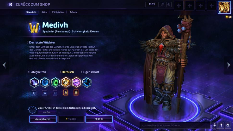 Heroes of the Storm: Medivh-Patch Version 18.4 (2)