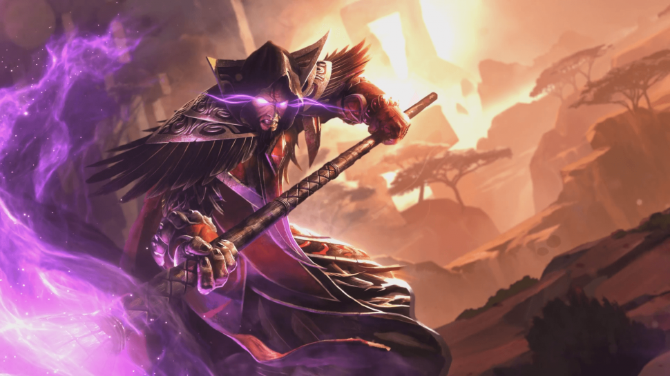 Heroes of the Storm: Medivh Artwork