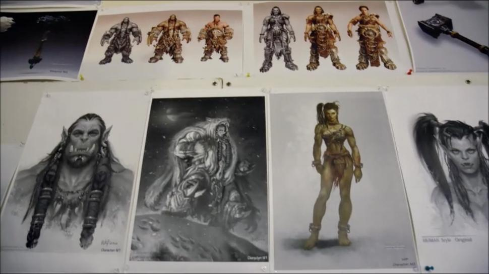 Charakter-Design in Warcraft: The Beginning - Garona und Durotan