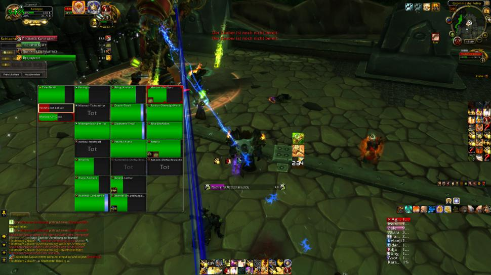 WoW: Addons - Clique (Battle for Azeroth 8 0)