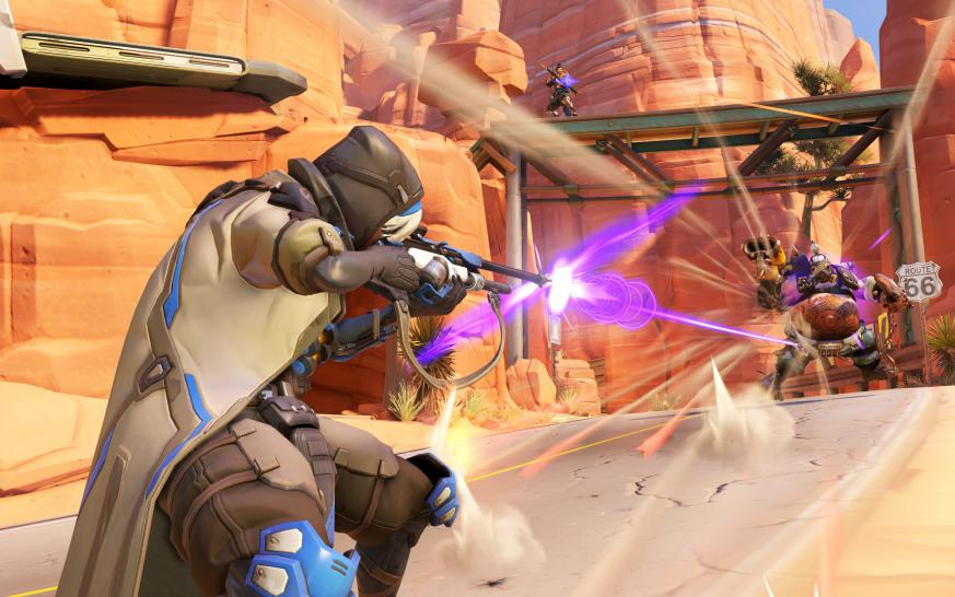 Overwatch: Support-Heldin Ana (2)