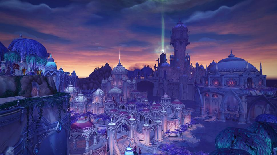 WoW Legion: Suramar City