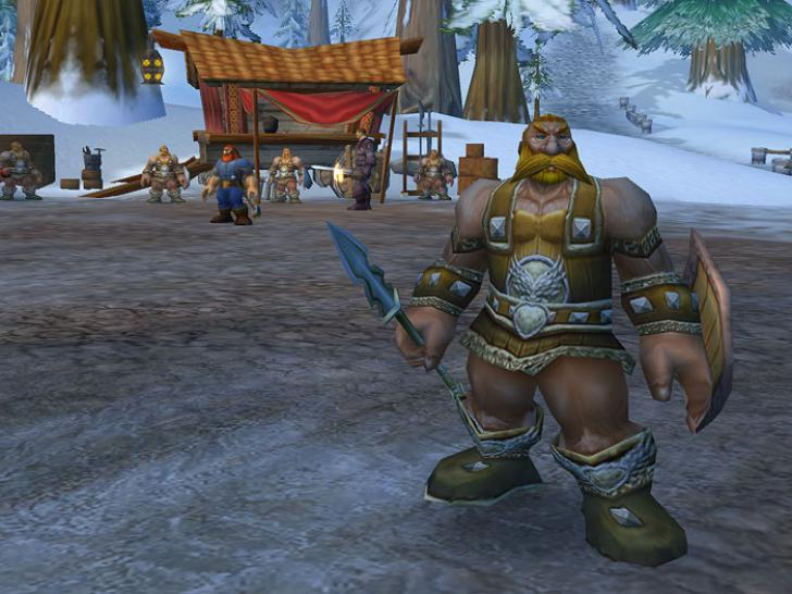 So sah die Alpha-Version von World of Warcraft aus.  (1)