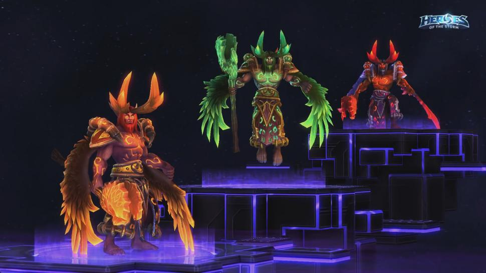 Heroes of the Storm: Malfurion als Druide der Flamme (1)