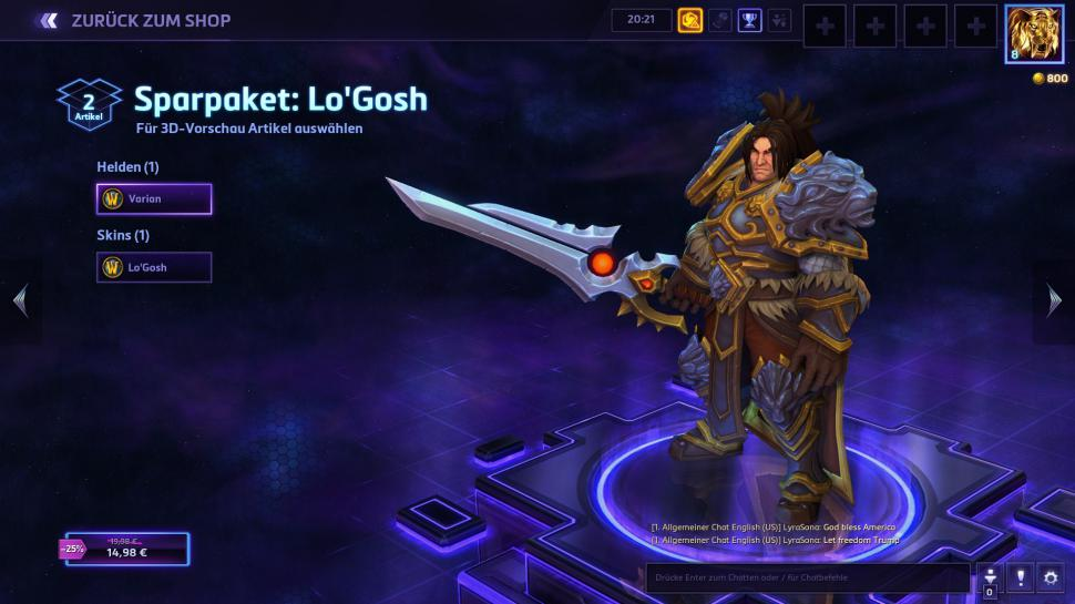 Heroes of the Storm: Varian Wrynn (1)