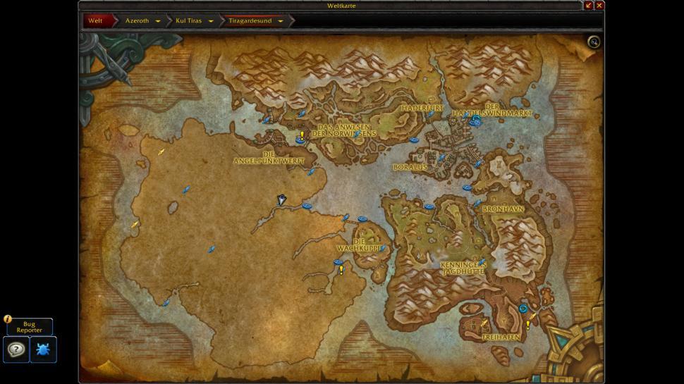 WoW: Battle for Azeroth - Alle Karten von Kul Tiras und Zandalar auf ...
