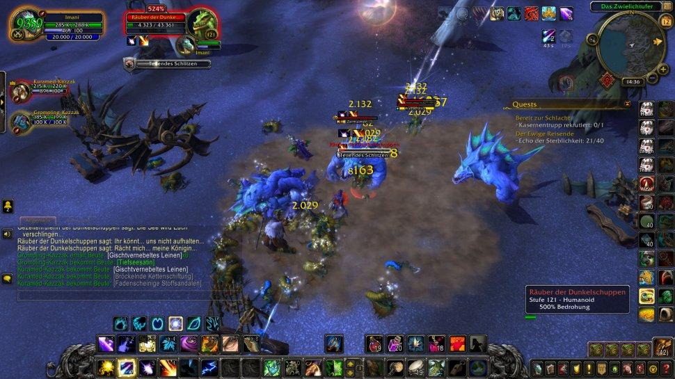 Airxcn Neues Hausgeschenk World of Warcraft Pandaren Zorn des Lichk/önigs 5 Tafelbild Wandposter 100x50cm Rahmenlos
