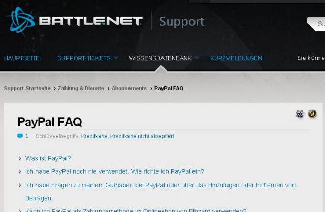 battle.net zahlungsmethoden