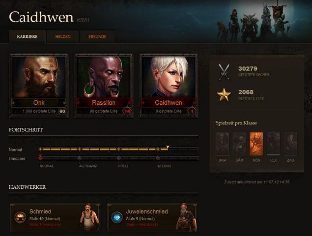 Blizzard Pushes Diablo III Multiplayer Update