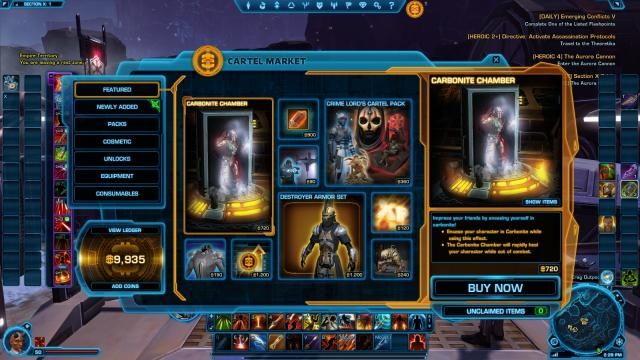 Star wars the old republic unlock character slots rileys poker chips
