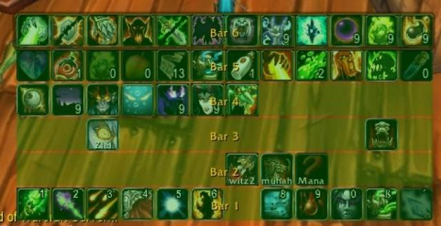WoW Addon-Tipp: Bartender4 - Revisited