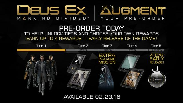Deus Ex Mankind Divided Release