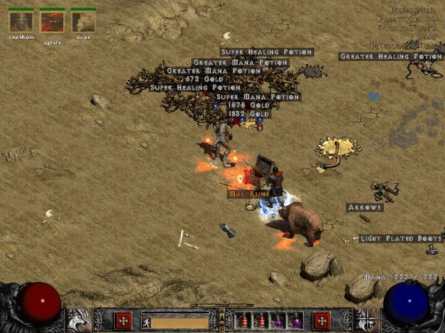 Diablo 2: Großer Guide zum Finden magischer Items - Alle