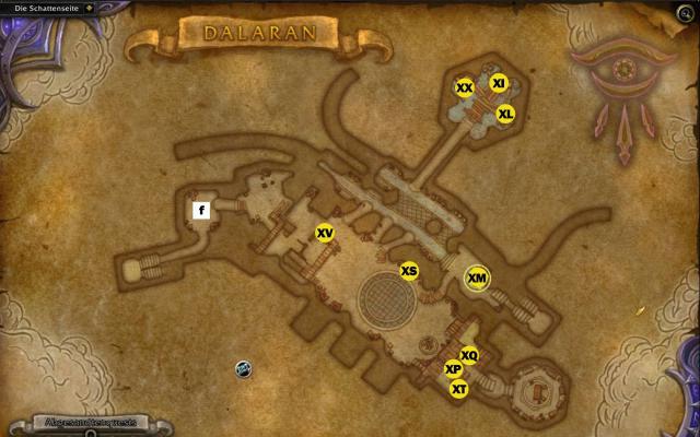 WoW Legion: Dalaran-Karten-Guide für alle Lebenslagen - wo