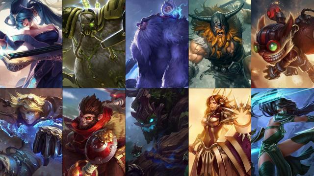 league of legends kostenlos champions