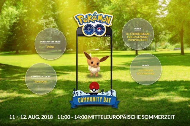 Pokemon Go Das Taugt Evolis Attacke Zuflucht Vom Community Day