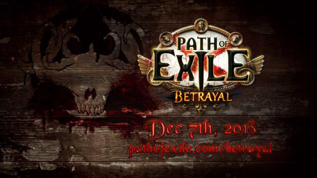 path of exile die patch notes zur betrayal liga das ndert sich. Black Bedroom Furniture Sets. Home Design Ideas
