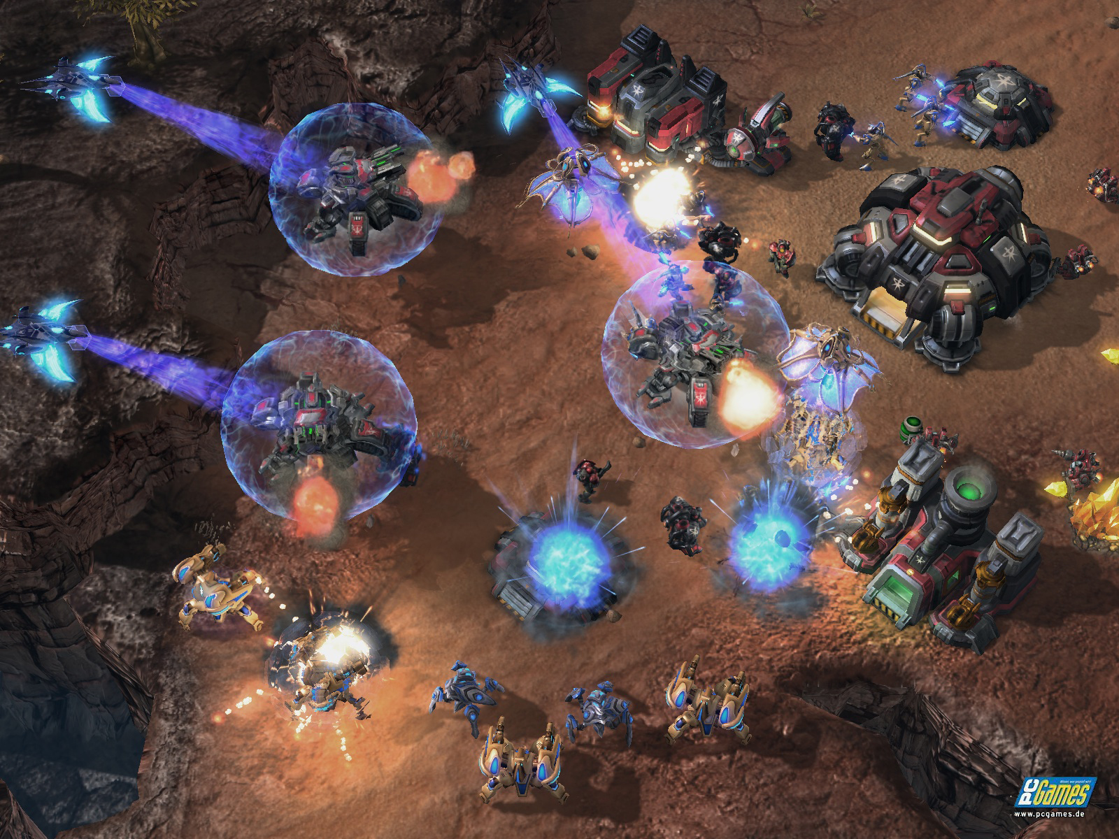 StarCraft 2 скриншот.