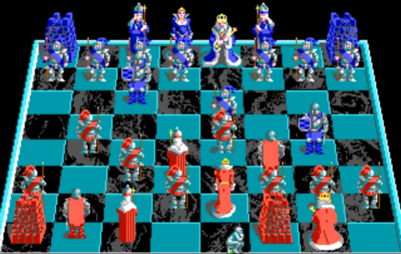 battle of the boyne chess set