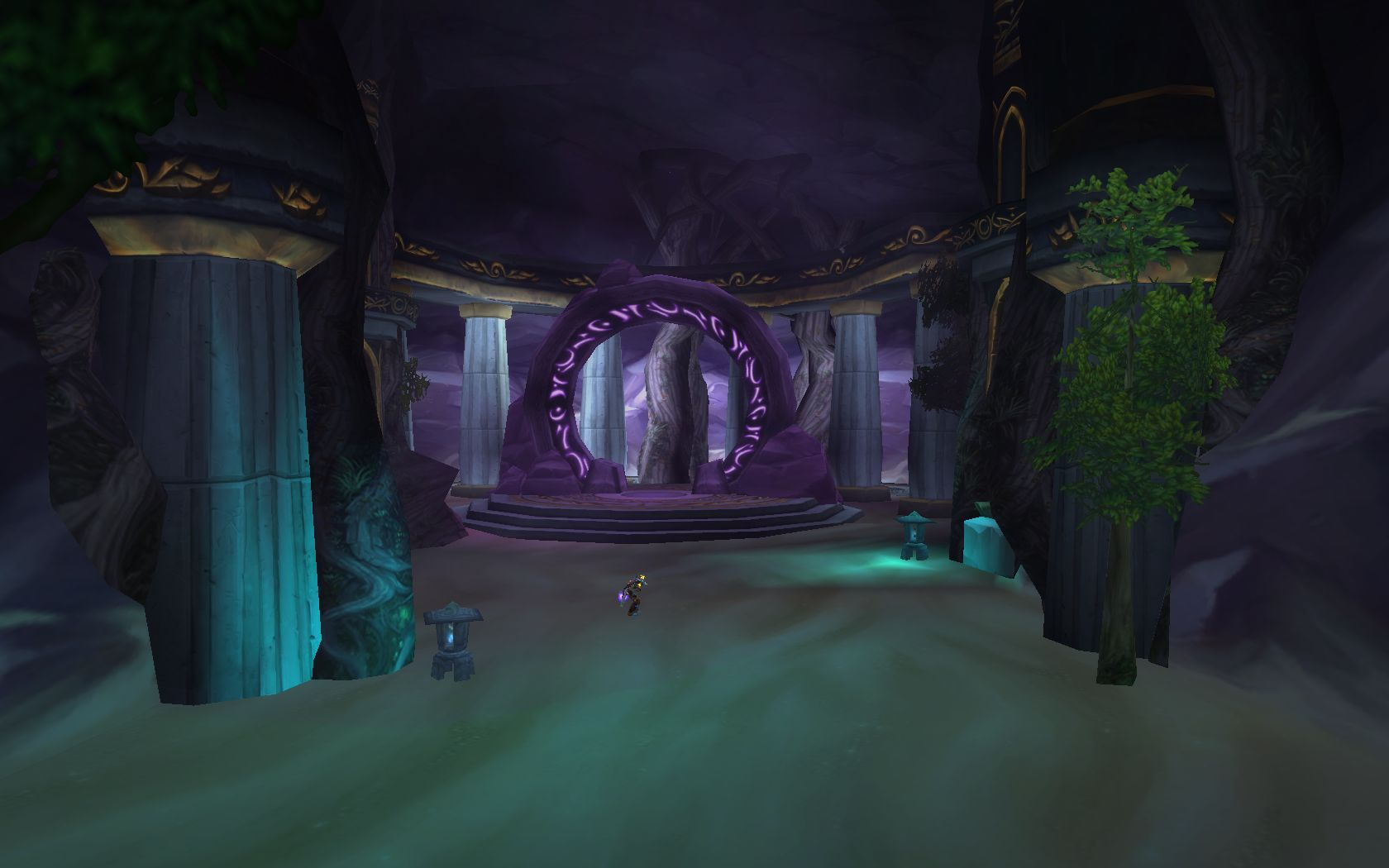 wow patch 4 3 so sieht es im dungeon brunnen der ewigkeit. Black Bedroom Furniture Sets. Home Design Ideas