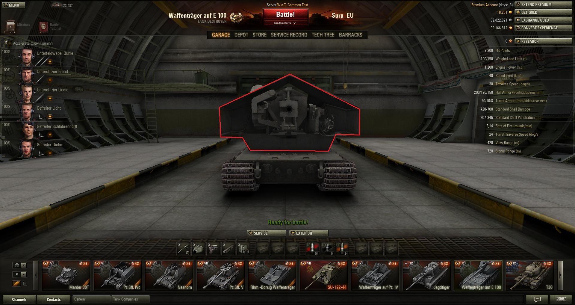 World of Tanks 8.9 Guide: Deutsche Jagdpanzer, Premium ...