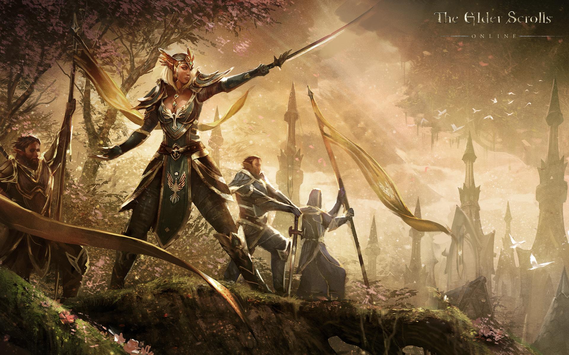 The Elder Scrolls Online Die Spielbaren Fraktionen Das Aldmeri