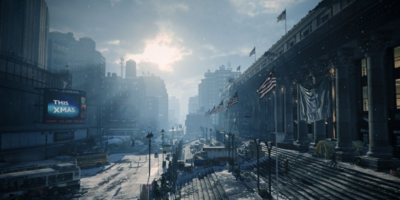 Das New Yorker Post Office in The Division