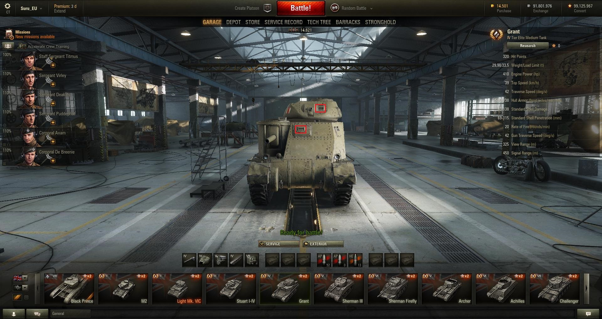 World-of-Tanks Patch-95 Grant-Front-buffed